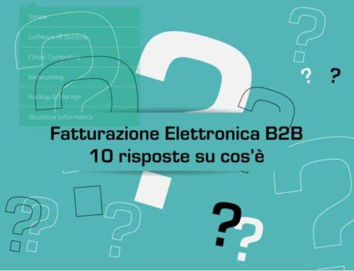 Fatturazione Elettronica B2B – dieci risposte