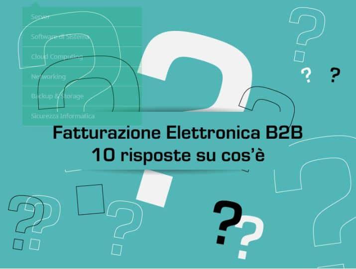 10 risposte al problema fatturazione elettronica